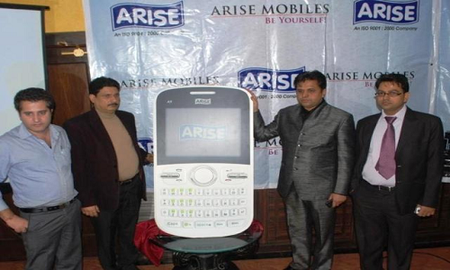 Arise Budget Mobile Phones launched in Jammu & Kashmir