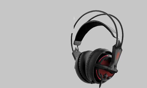Diablo III SteelSeries headset from Blizzard Entertainment