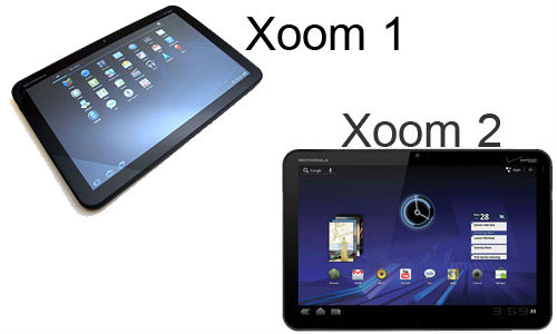 Motorola's XOOM1, XOOM2 Tablet PCs