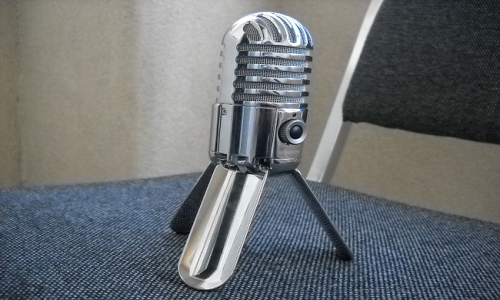 Samson Meteor: The Portable Mic with legs