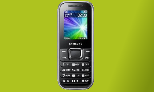 Samsung E1230 - An entry level phone