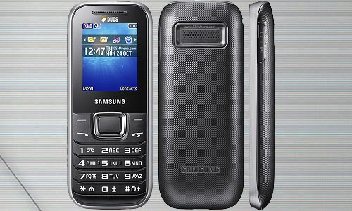 Samsung Hero Music E123B for Music enthusiasts