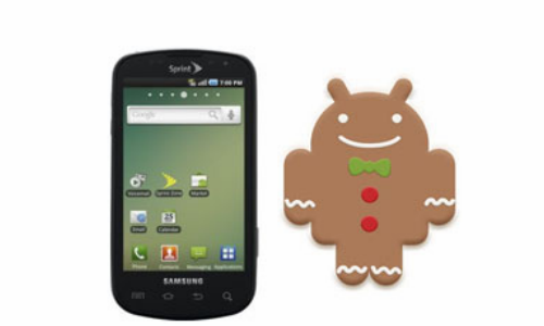 Samsung Epic 4G gets an epic Gingerbread Upgrade