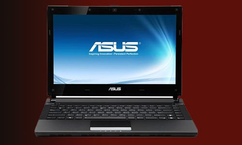 13.3 inches Notebook from Asus with an elegant design