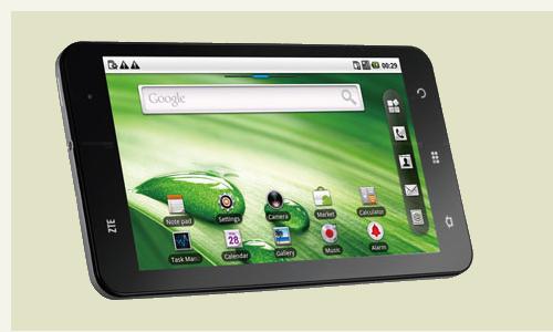 A new marvel: ZTE's light tablet