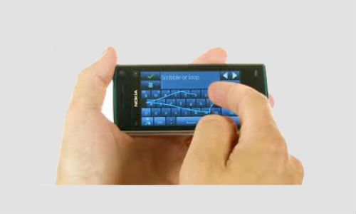 Swype beta which is compatible with Nokia S 60 smartphones