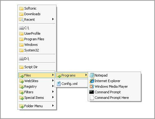 How to organize folders in Windows machine?