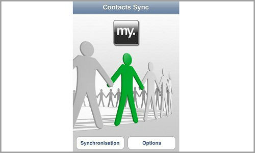 How to sync outlook contacts with gmail?