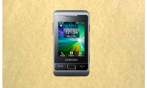 Samsung Champ 2 with touch screen display launching soon
