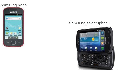 Motorola Droid Razr & Samsung Stratosphere smartphones head to head
