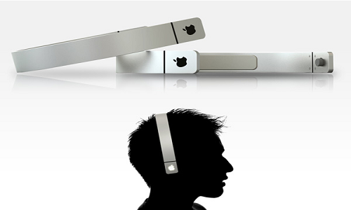 Apple hairband headphone