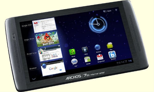 Archos 70b Honeycomb tablet PC unveiled
