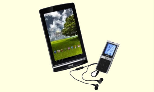 Asus EEE Pad MeMo android based 7 inch tablet