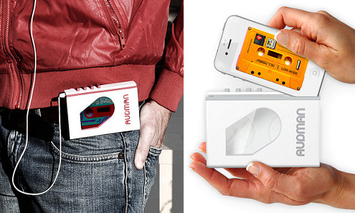Convert your iPhone to walkman with the all new Audman case