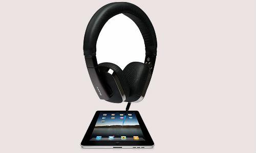 Blue Ant stereo headphones