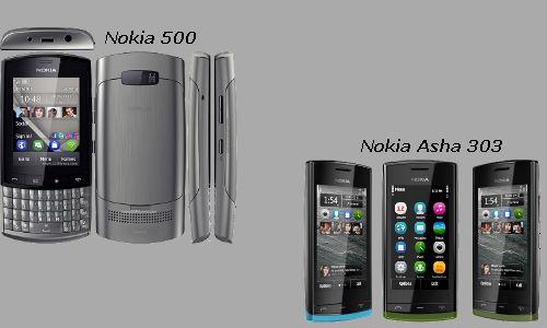 Two revolutionary gadgets compared: The Nokia 500, Nokia Asha 303 smartphones