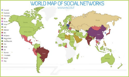 ComScore shows the dominance of social networking in 2011