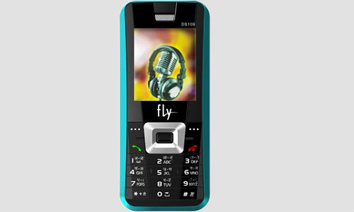 Fly DS109, a simple and standard bar phone