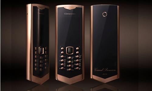 Gresso grand premiere, a premium mobile phone