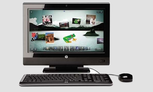 New range of all in one PC's from HP