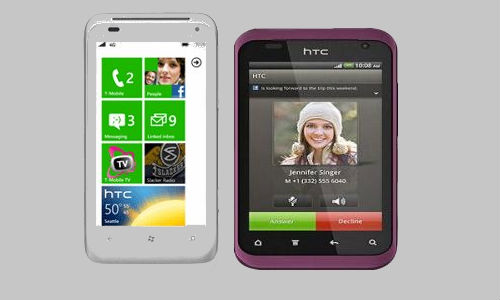 HTC's revolutionary smartphones: The HTC Radar, The HTC Rhyme