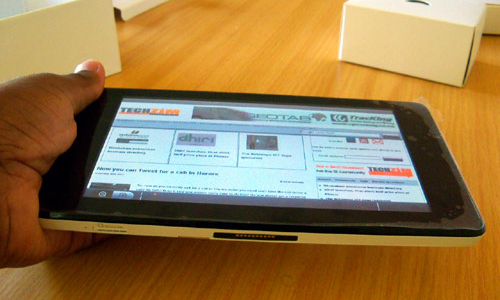 Huawei Ideos S7, the slim and stylish tablet PC
