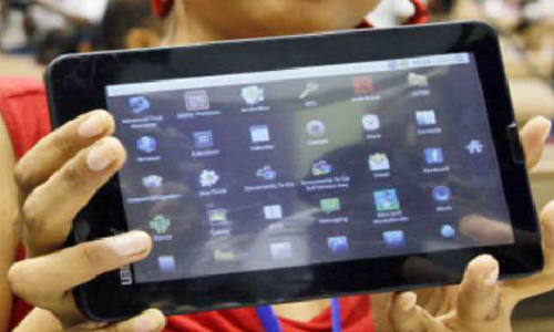 Inexpensive Aakash tablet is on sale
