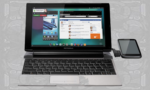 Motorola launches Lapdock for latest Android smartphones