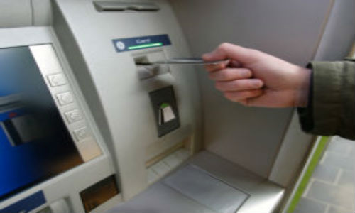 Leave your ATM cards at home