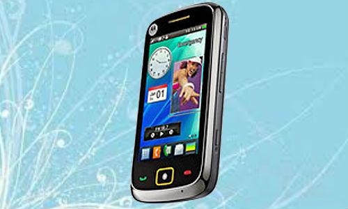 Motorola EX245 unveiled