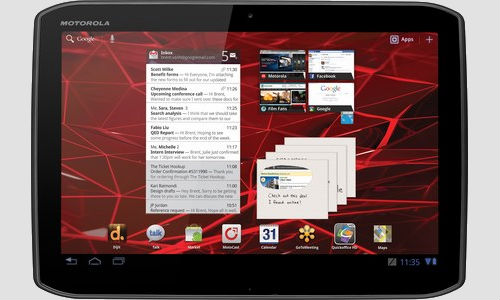 Motorola Droid Xyboard 8.2 Tablet PC features leaked