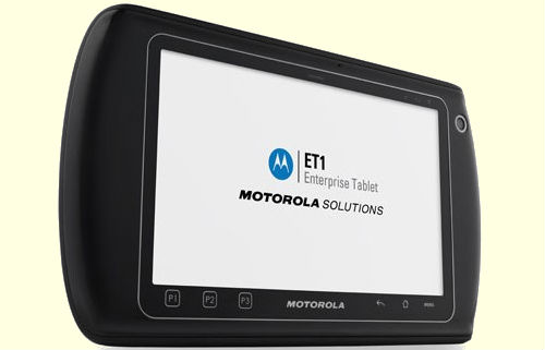Motorola ET1 tablet specifications unveiled