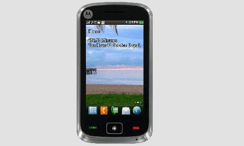 Motorola EX124G Smartphone unvelied