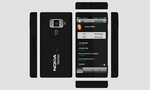 Nokia N10 Meego smartphone