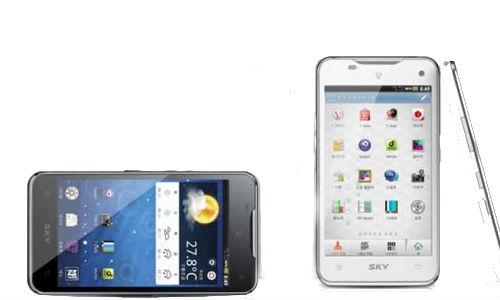 Pantech Vega LTE Phone with gesture control