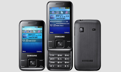 Samsung E2600 mobile phones unveiled