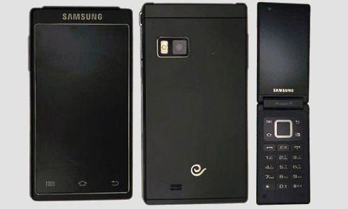 Samsung introduces SCHW 999 flip Smartphone