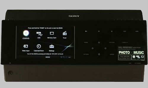 Micro Hi-Fi system from Sony:  The Sony WHG-SLK20D