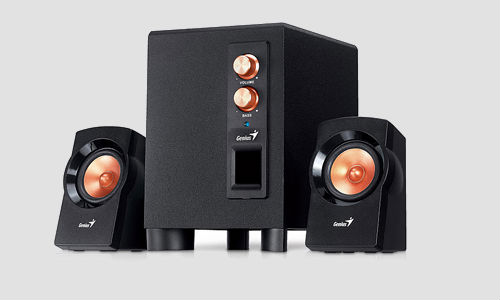 Genius launches affordable, powerful SW21 360 pc speakers