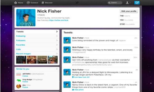 Twitter changes website's look