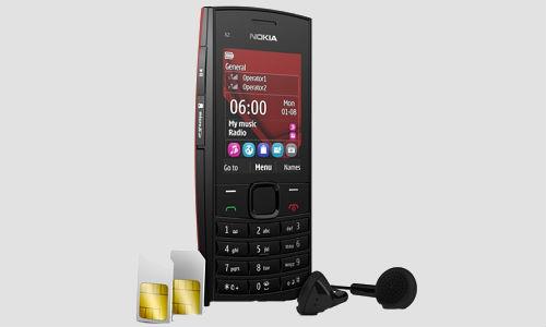 Nokia X202 dual sim music phones announced