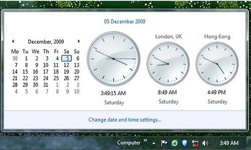Windows 7 Computers Utilities Clock App How To