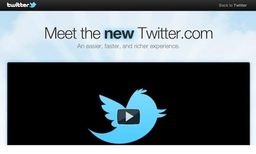 How to enable your new Twitter design?