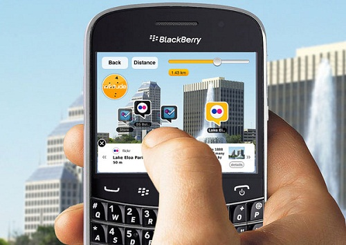 How to set up Wikitude and connect with Blackberry Messenger