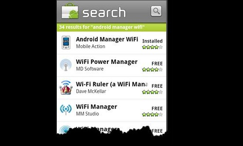 How to synchronize smartphone over Wi-Fi?