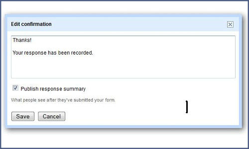How to use forms in Google docs for online surveys?