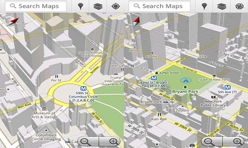 How to work with Google maps 5.0?