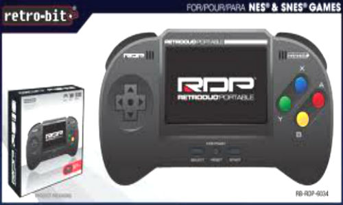 Retrobit launching userfriendly Retroduo a portable game console