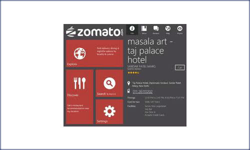Now locating restaurants in your city is more easier through the Zomato App