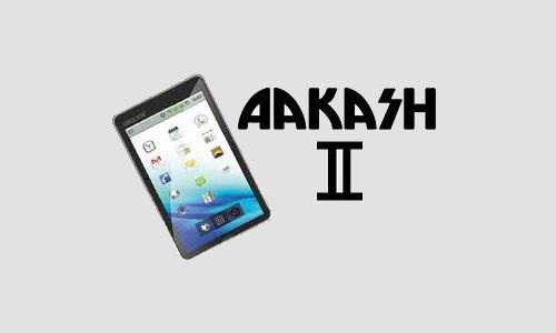 Aakash II to be released by April 2012